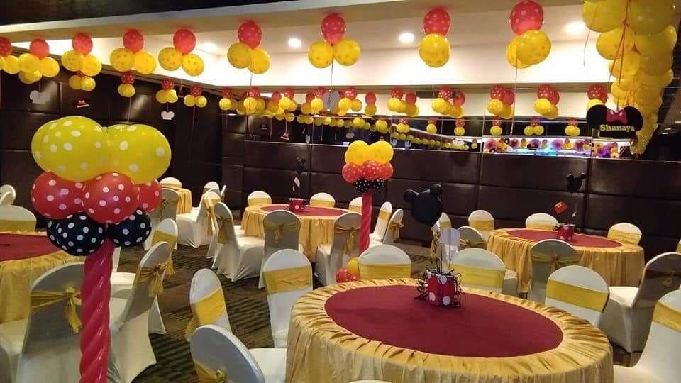 Welp Feestzaal inrichten verjaardag - Feestzaal Decoratie BB-42